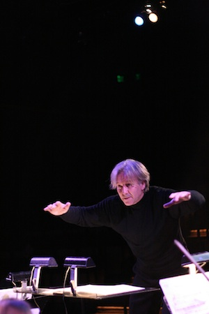 Yes, the entire review is going to go like this. Photo of conductor Angel Gil-Ordonez by Tom Wolff.